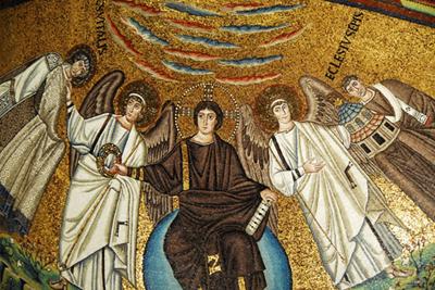 Christ with Bishop eccesium and St Vatalis