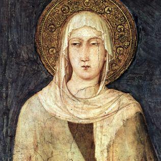 Chiara d'Assisi - Simone Martini